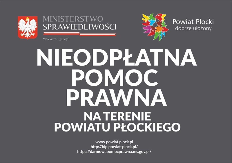 32127bdfdf6290 Nieodpłatna pomoc prawna na terenie powiatu płockiego w 2018 roku