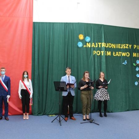 Zakończenie roku szkolnego klas 4 w Zespole Szkół im. Leokadii Bergerowej w Płocku