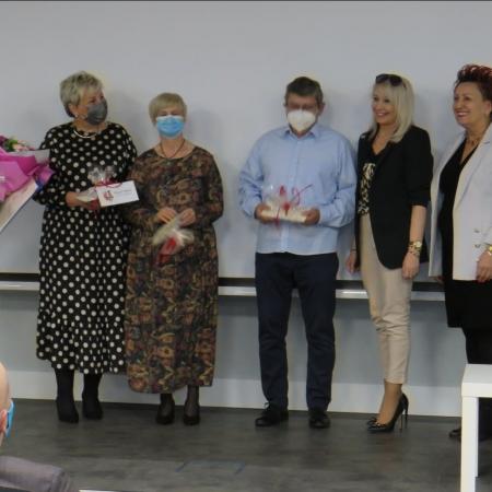 W uroczystości Powiat Płocki reprezentowała Wicestarosta Iwona Sierocka oraz Dyrektor Wydziału Edukacji, Kultury i Spraw Społecznych Małgorzata Struzik
