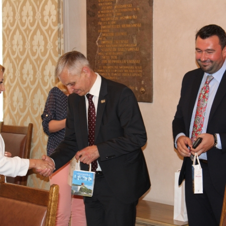 Delegacja parlamentu litewskiego z roboczą wizytą na ziemi płockiej.