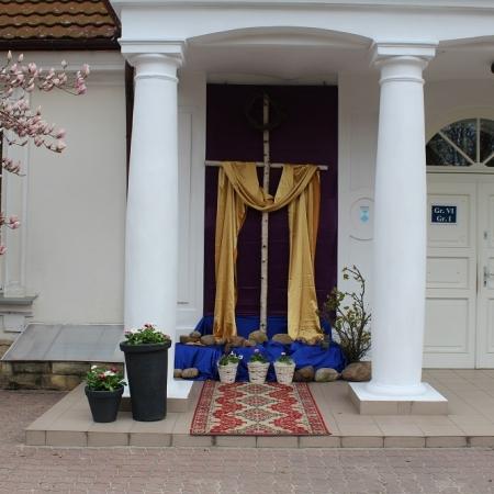 Droga Krzyżowa w DPS w Goślicach