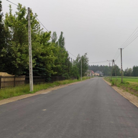 Przebudowa drogi powiatowej nr 6907W
