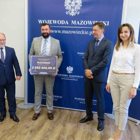 Fundusz Dróg Samorządowych: ponad 9,7 mln zł dla subregionu płockiego