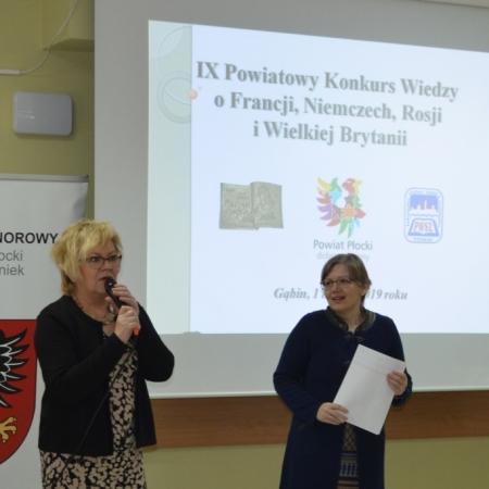 IX Powiatowy Konkurs Wiedzy o Francji, Niemczech, Rosji i Wielkiej Brytanii