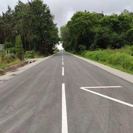 Już gotowa, droga powiatowa nr 6907W Gąbin – Nowy Kamień – Janówek