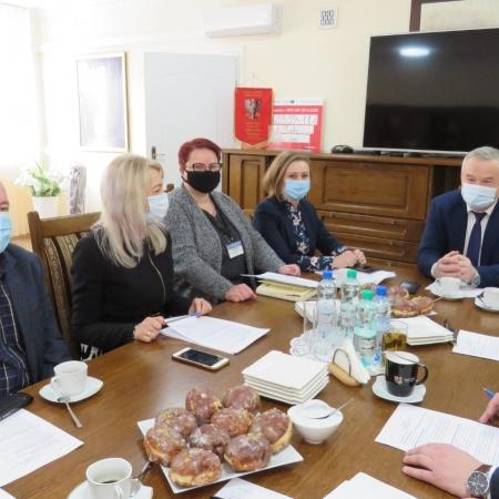 Kolejne posiedzenie Zarządu Powiatu Płockiego za nami