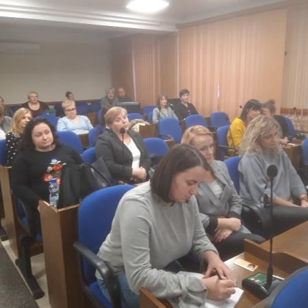 """Konferencja podsumowująca projekt """"Punkt Profilaktyczno-Konsultacyjny dla Podejmujących Zachowania Ryzykowne Dzieci, Młodzieży i Młodych Dorosłych z terenu Powiatu Płockiego"""