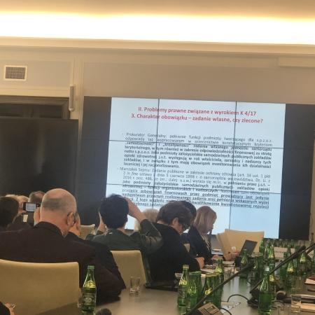 Konferencja poświęcona przerzuceniu kosztów funkcjonowania szpitali na samorządy terytorialne
