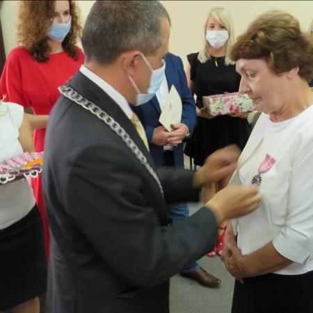 Złote gody małżeństw z gminy Brudzeń Duży