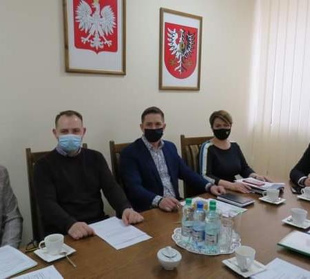 Marcowe posiedzenie Zarządu Powiatu Płockiego
