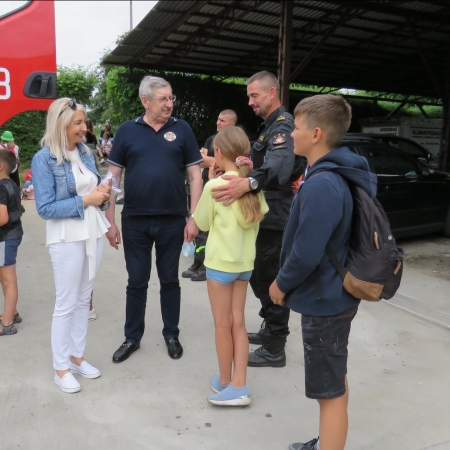Obóz szkoleniowo - wypoczynkowy dla młodzieżowych drużyn pożarniczych