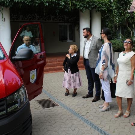Nowe pojazdy dla jednostek organizacyjnych powiatu płockiego