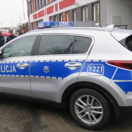 Nowy radiowóz w powiecie płockim. Tym razem w Drobinie