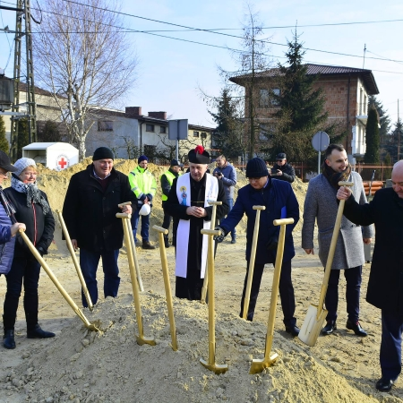 Oficjalne rozpoczęcie budowy kanalizacji w aglomeracji Bodzanów