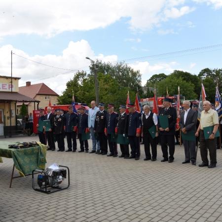 110 lat Ochotniczej Straży Pożarnej w Rębowie