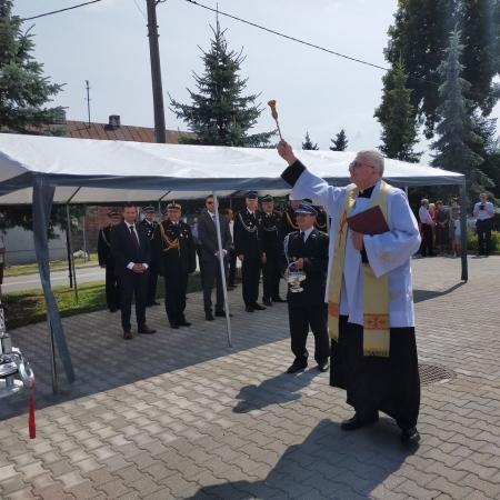 Uroczystość w Bądkowie Kościelnym
