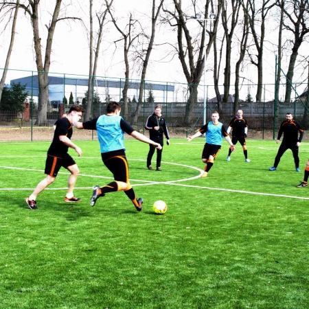 Otwarcie boiska do piłki nożnej w Wyszogrodzie