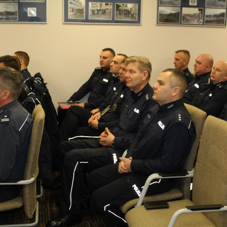 Płoccy policjanci podsumowali stan bezpieczeństwa w minionym roku
