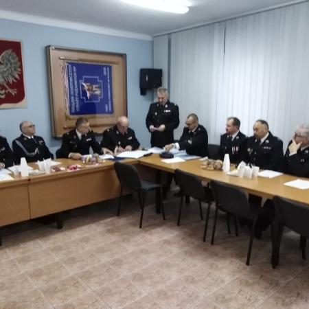 Plenarne posiedzenie Zarządu Oddziału Powiatowego ZOSP RP w Płocku
