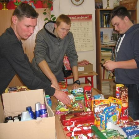 Przedświąteczne działania wolontariuszy