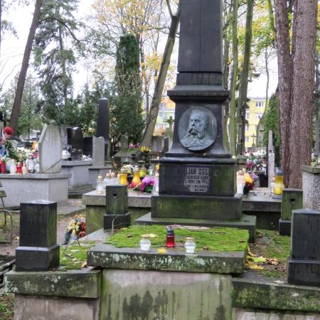 Kwesta na płockich cmentarzach