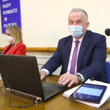 XXV sesja Rady Powiatu w Płocku
