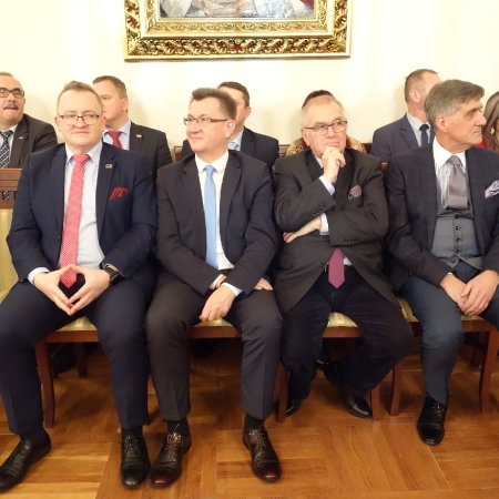 """Spotkanie opłatkowe płockiej """"Solidarności"""""""