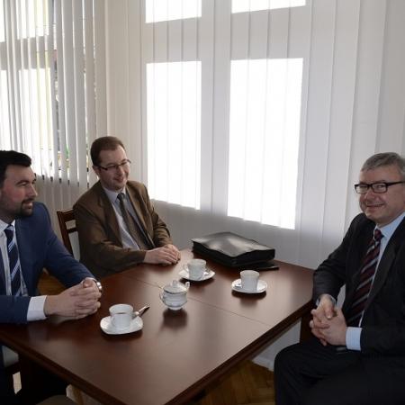 Spotkanie ze Starostą Gostynińskim