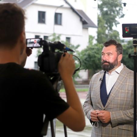 Podpisanie umów z Marszałkiem Adamem Struzikiem