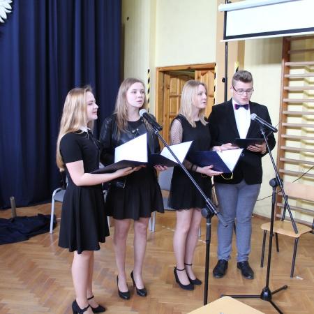 Uroczystość zakończenia roku szkolnego maturzystów w Wyszogrodzie