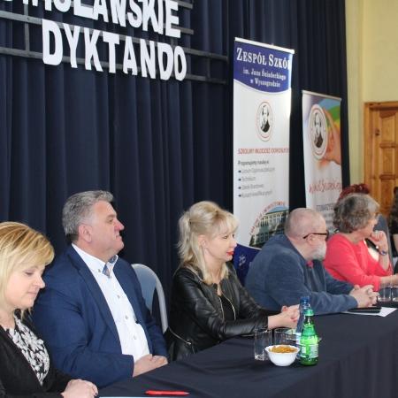 V Nadwiślańskie Dyktando z prof. Jerzym Bralczykiem i doc. dr Grażyną Majkowską już za nami...