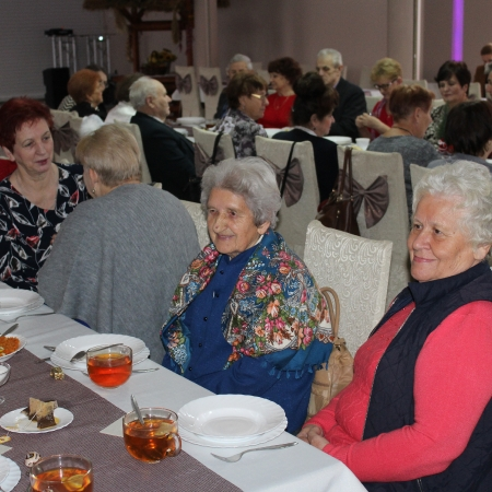 Świąteczne spotkanie Seniorów z Gminy Mała Wieś