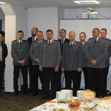 Świąteczne spotkanie w Komendzie Miejskiej Policji