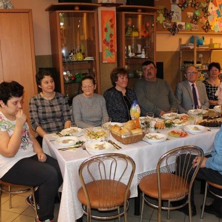 Świąteczne spotkanie w Środowiskowym Domu Samopomocy w Wyszogrodzie