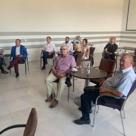 Wyjazdowe posiedzenie komisji Rady Powiatu Płockiego