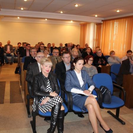Wspólne posiedzenie Powiatowego Zespołu Zarzadzania Kryzysowego w Płocku i Miejskiego Zespołu Zarzadzania Kryzysowego w Płocku