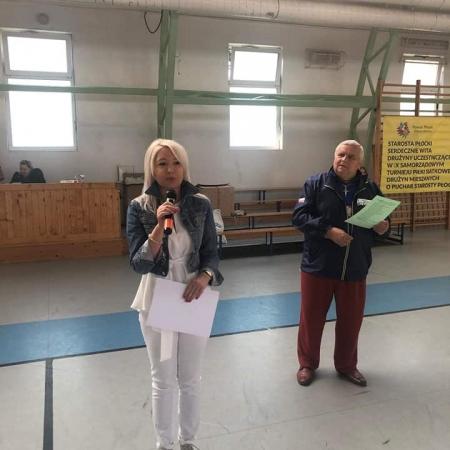 X Jubileuszowy Samorządowy Turniej Piłki Siatkowej Drużyn Mieszanych o Puchar Starosty Płockiego Mariusza Bieńka