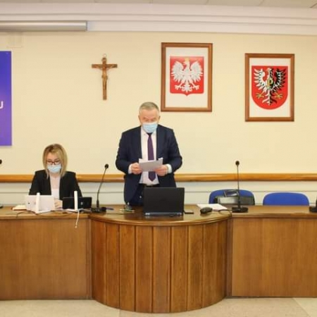 XX Sesja Rady Powiatu w Płocku w kadencji 2018-2023 za nami