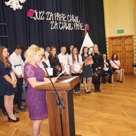 Zakończenie roku szkolnego w ZS im. Jana Śniadeckiego w Wyszogrodzie