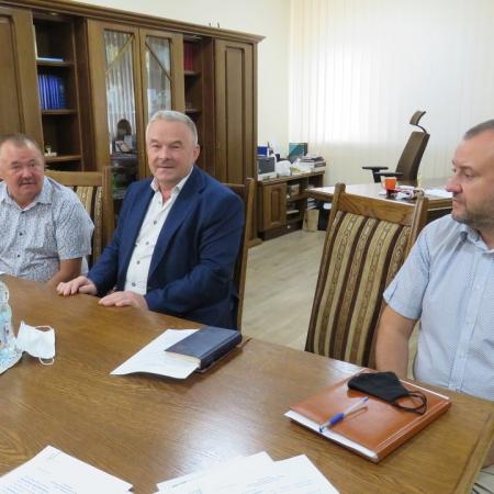 Posiedzenie Zarządu Powiatu w Płocku