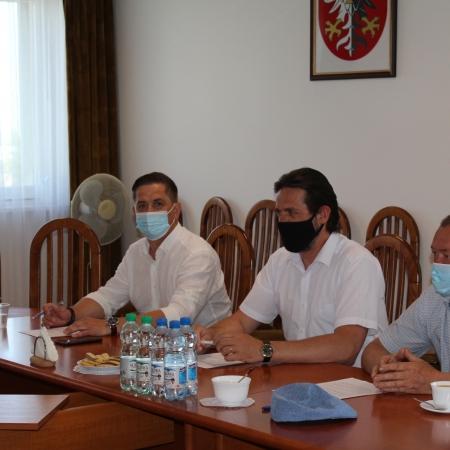 Posiedzenie Zarządu Powiatu Płockiego