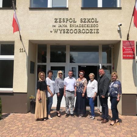 Posiedzenie wyjazdowe Komisji do Spraw Społecznych Rady Powiatu w Płocku